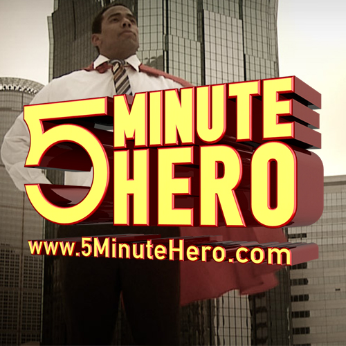 5 Minute Hero - Home